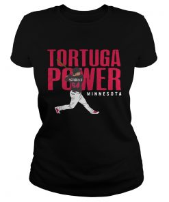 Willians Astudillo La Tortuga Power Minnesota Twins ladies tee