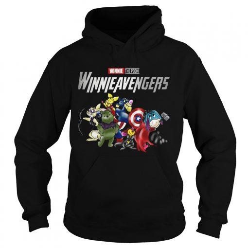 Winnieavengers Winnie the pooh Avengers hoodie