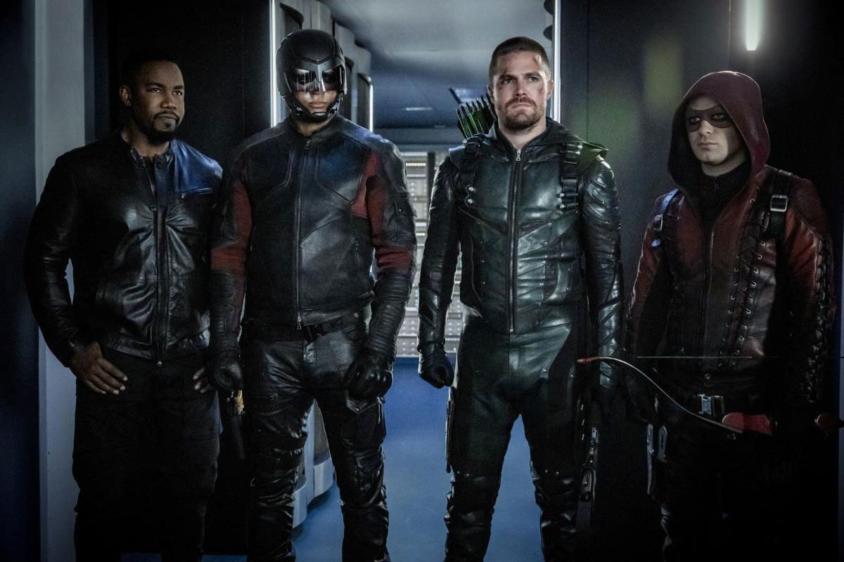 Arrow's season finale sets up a whole new TV show for its next and final season