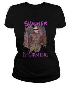 Arya Stark summer is coming Game of Thrones ladies tee