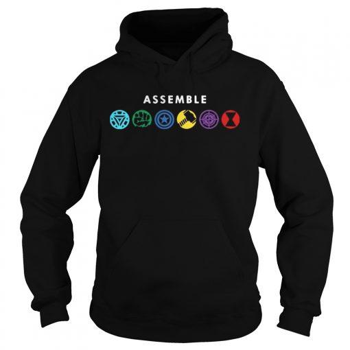 Assemble Marvel Superheroes hoodie