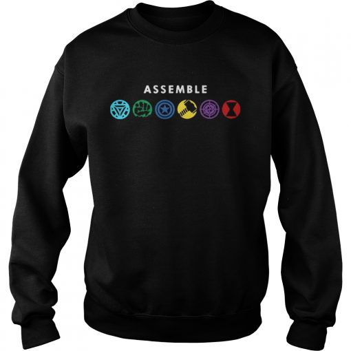 Assemble Marvel Superheroes sweatshirt