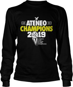 Ateneo Champions 2019 Ateneo Lady Eagles UAAP81 champions longsleeve tee
