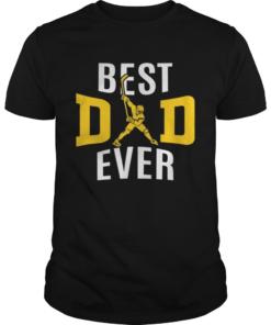 Best Dad Ever Papa Hockey  Unisex
