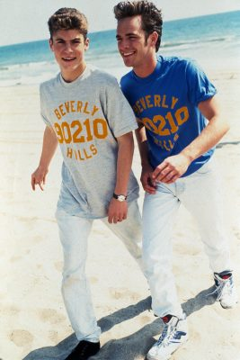 Brian Austin Green and Luke Perry