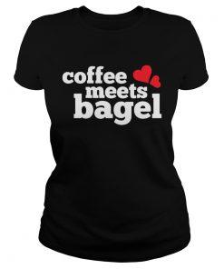 Coffee Meets Bagel ladies tee