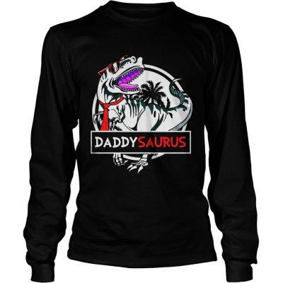 Daddy Saurus Glasses longsleeve tee