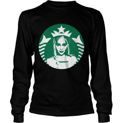 Daenerys Targaryens Starbucks longsleeve tee