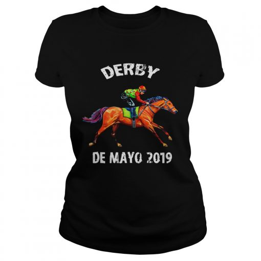 Derby De Mayo Kentucky Horse Race ladies tee