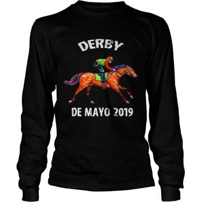 Derby De Mayo Kentucky Horse Race longsleeve tee