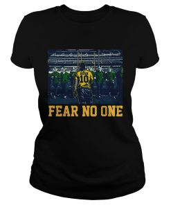 Devin Bush 10 Fear No One ladies tee
