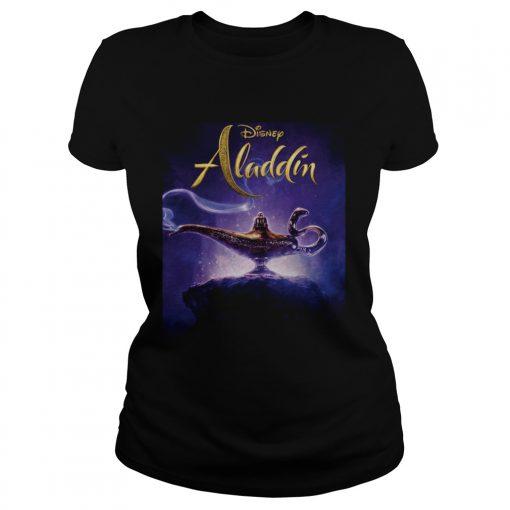 Disney Aladdin and the magic lamp ladies tee