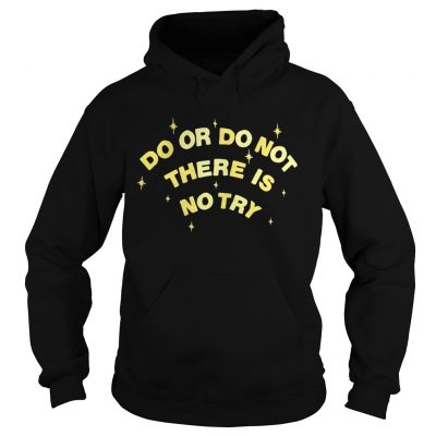 Do or do not there is no try hoodie
