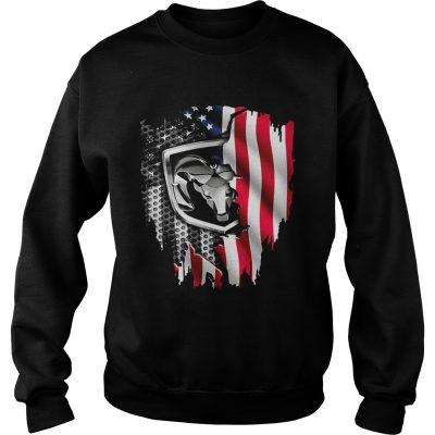 Dodge Ram American flag sweatshirt