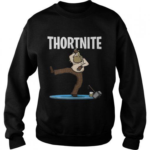 Fat Thor Thortnite Fortnite Sweatshirt