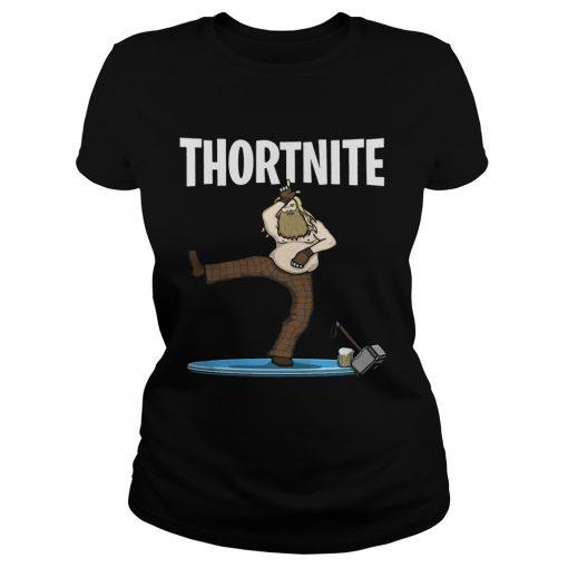 Fat Thor Thortnite Fortnite ladies tee