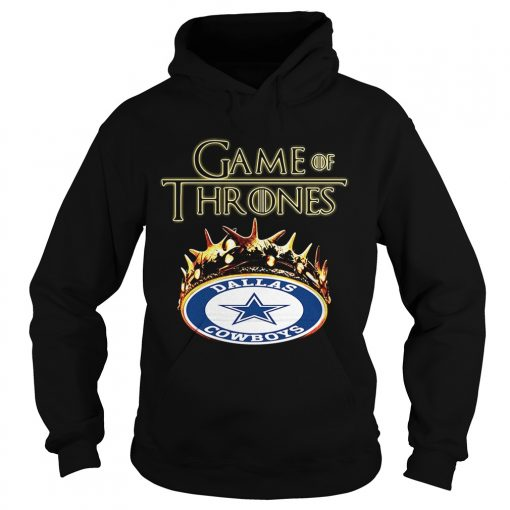 Game of Thrones Dallas Cowboys mashup hoodie