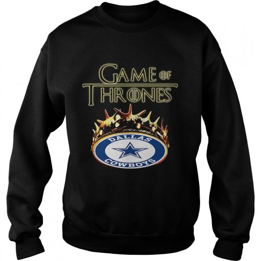 Game of Thrones Dallas Cowboys mashup sweatshirt