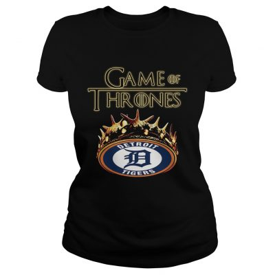 Game of Thrones Detroit Tigers mashup ladies tee