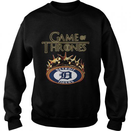 Game of Thrones Detroit Tigers mashup sweatshirt
