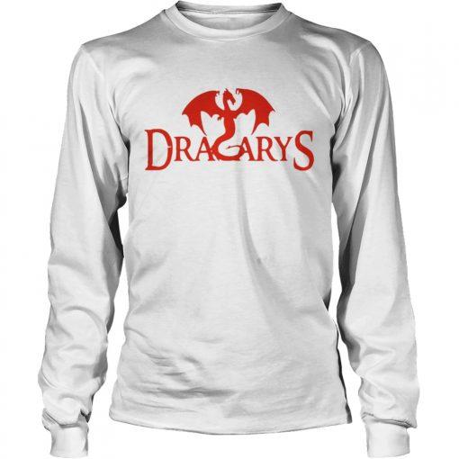 Game of Thrones Dracarys Dragon longsleeve tee