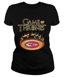 Game of Thrones Kansas City Chiefs mashup ladies tee