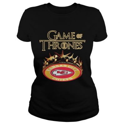 Game of Thrones Kansas City Chiefs mashup ladies tee