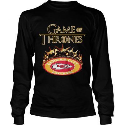 Game of Thrones Kansas City Chiefs mashup longsleeve tee