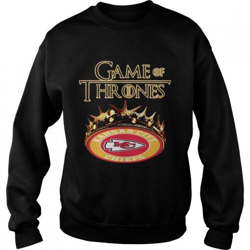 Game of Thrones Kansas City Chiefs mashup sweatshirt