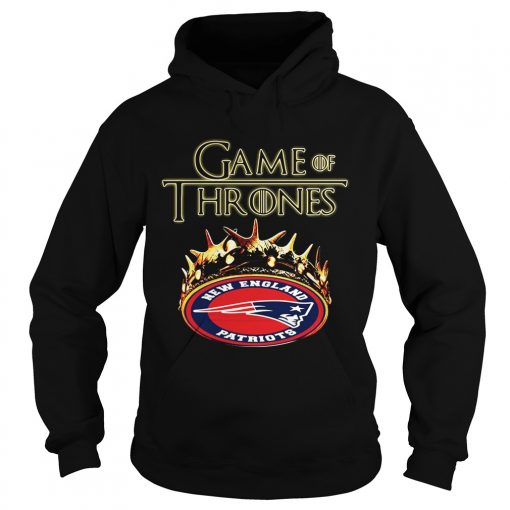 Game of Thrones New England Patriots mashup hoodie