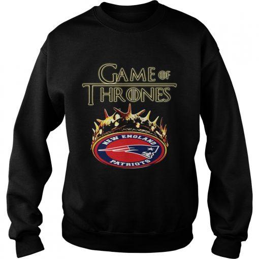 Game of Thrones New England Patriots mashup sweatshirt
