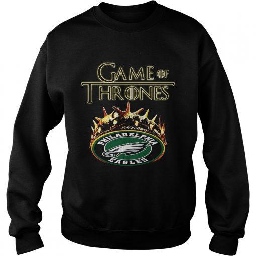 Game of Thrones Philadelphia Eagles mashup sweatshirt