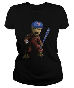 Groot I Am Chicago Cubs ladies tee