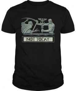Guys Angel and Devil not today Game of Thrones shirt