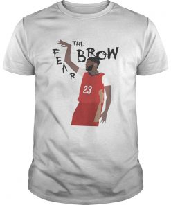 Guys Anthony Davis Fear The Brow shirt