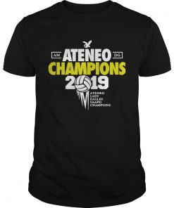 Guys Ateneo Champions 2019 Ateneo Lady Eagles UAAP81 champions shirt