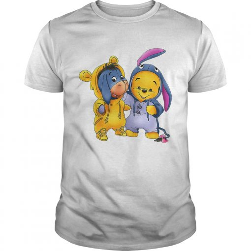 Guys Baby Pooh and Eeyore Winnie the Pooh shirt