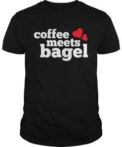 Guys Coffee Meets Bagel Shirt