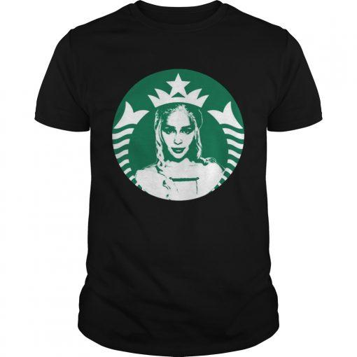 Guys Daenerys Targaryens Starbucks Shirt