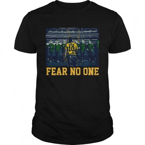 Guys Devin Bush 10 Fear No One Shirt
