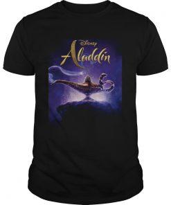 Guys Disney Aladdin and the magic lamp shirt