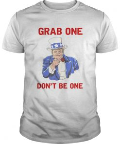 Guys Donald Trump Grab one dont be one shirt