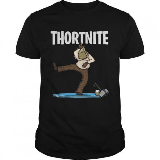 Guys Fat Thor Thortnite Fortnite Shirt