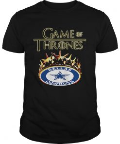 Guys Game of Thrones Dallas Cowboys mashup shirt