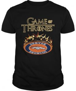 Guys Game of Thrones Denver Broncos mashup shirt