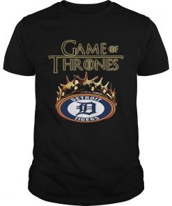 Guys Game of Thrones Detroit Tigers mashup shirt