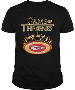 Guys Game of Thrones Kansas City Chiefs mashup shirt