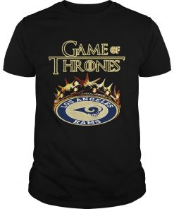 Guys Game of Thrones Los Angeles Rams mashup shirt