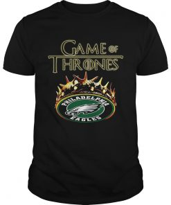 Guys Game of Thrones Philadelphia Eagles mashup shirt
