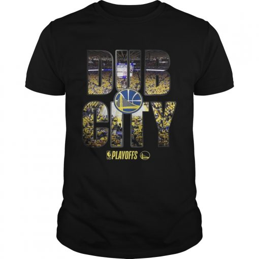 Guys Golden State Warriors 2019 NBA playoffs Dub City shirt